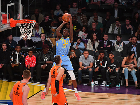 Taurean Prince in Full Action at Rising Stars