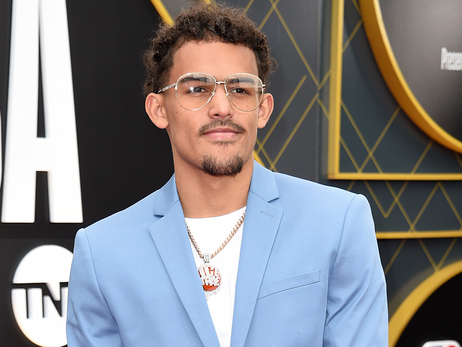 Trae Young Shows Out At NBA Awards