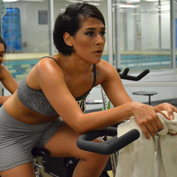 2014 Cheerleader Auditions – Spin Class