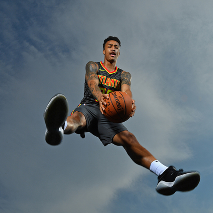 Collins Soars For Rookie Photo Shoot