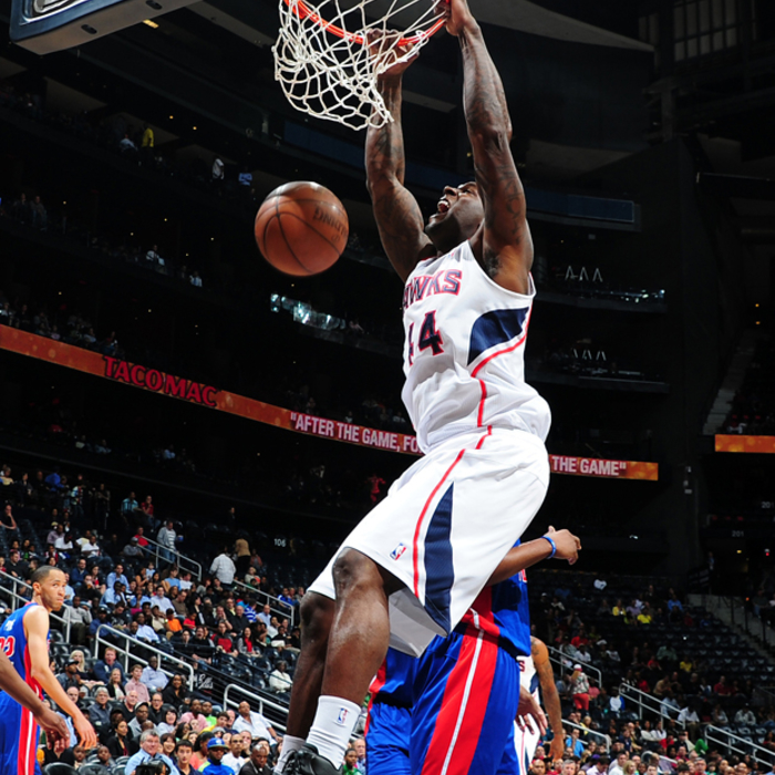 Hawks vs. Pistons – April 6, 2012