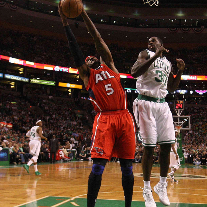 Round 1, Game 4 - Boston 101, Hawks 79