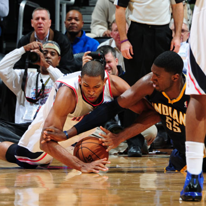 Hawks vs. Pacers - November 7, 2012
