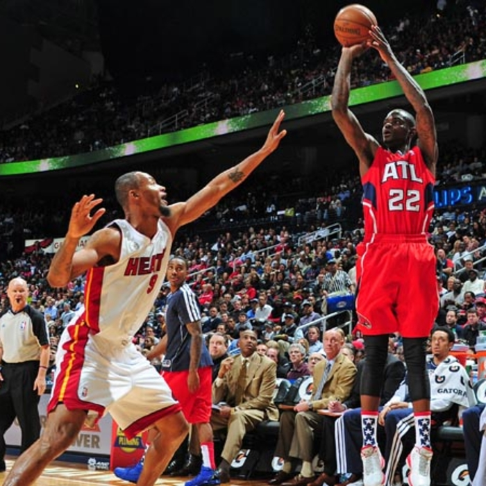Hawks vs. Heat - November 9, 2012