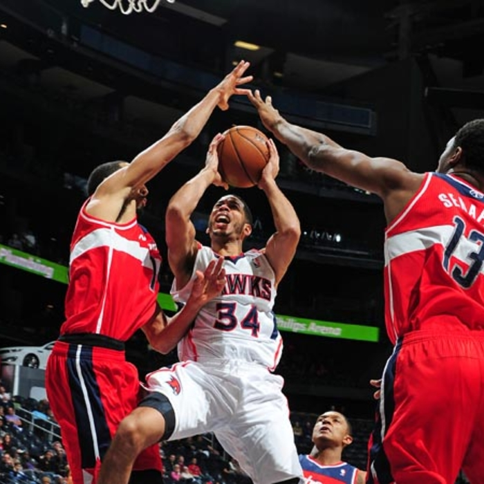 Hawks vs. Wizards - November 21, 2012