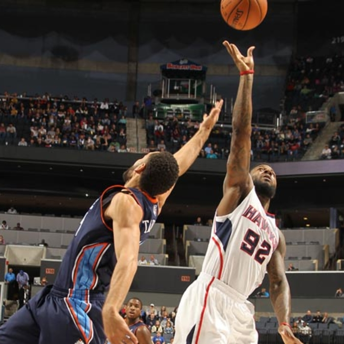 Hawks vs. Bobcats - November 23, 2012