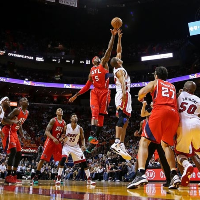 Hawks vs. Heat - December 10, 2012
