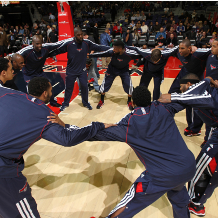 Hawks vs. Wizards - December 18, 2012