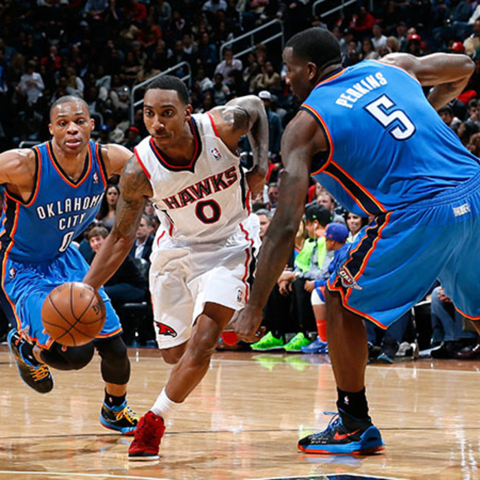 Hawks vs. Thunder - December 19, 2012
