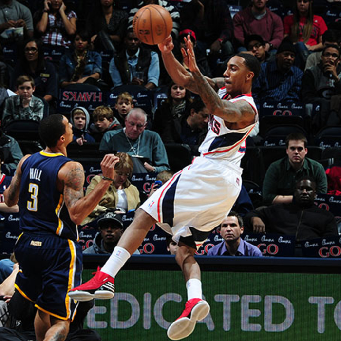 Hawks vs. Pacers - December 29, 2012