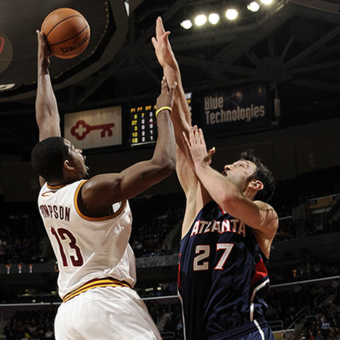 Hawks at Cavaliers - January 9, 2013