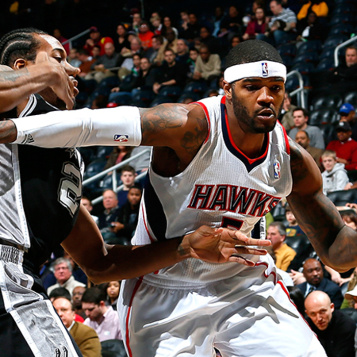 Hawks vs. Spurs - January 19, 2013