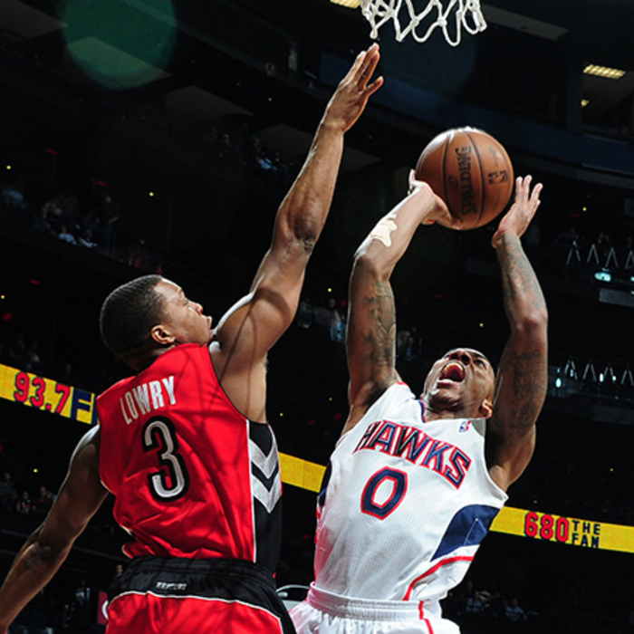 Hawks vs. Raptors - January 30, 2013