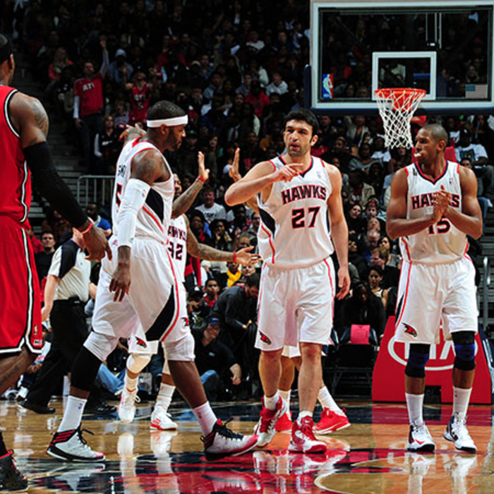 Hawks vs. Heat - February 20, 2013