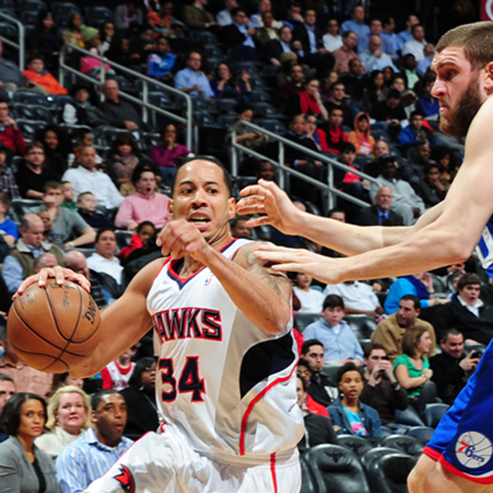 Hawks vs. Sixers - March 6, 2013