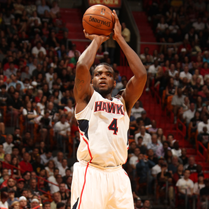 Paul Millsap was 7-10 from three-point range and finished the night with 25 poin