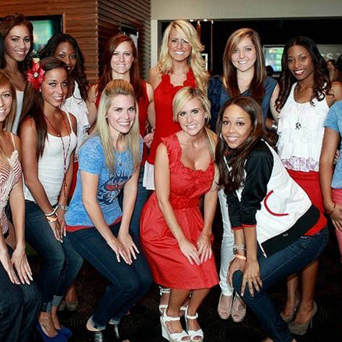 Hawks Cheerleaders - Out and About