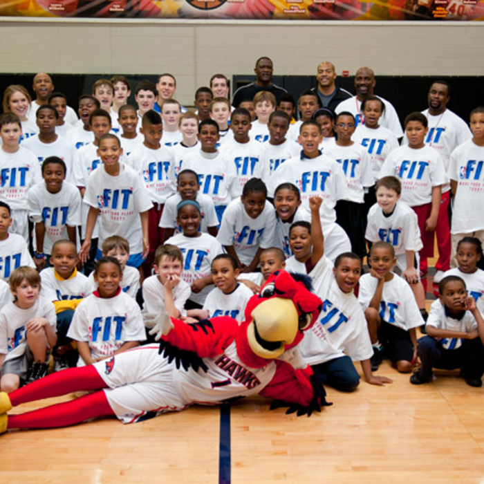 2011 NBA Fit Clinic - Photos: 01/01/2011