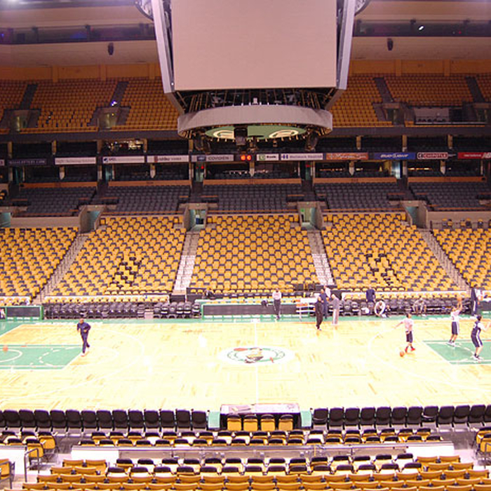 Images from Shootaround - April 11 in Boston