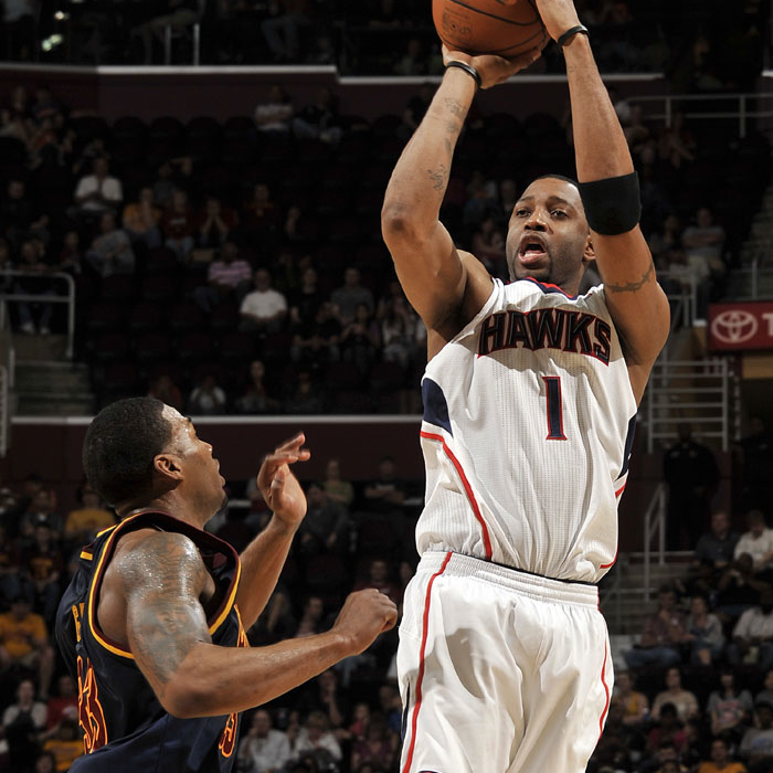 Hawks at Cavaliers - March 18, 2012