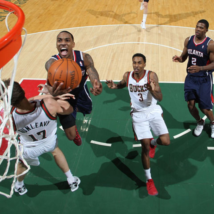 Hawks vs. Bucks - 1/23/12