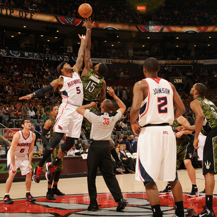 Hawks at Raptors - April 16, 2012