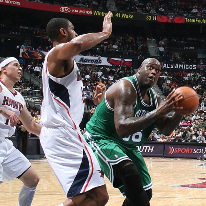 Hawks vs. Celtics - Photos by Scott Cunningham: 11/22/2010