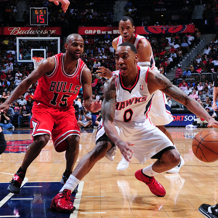 Hawks vs. Bulls - March 28, 2011
