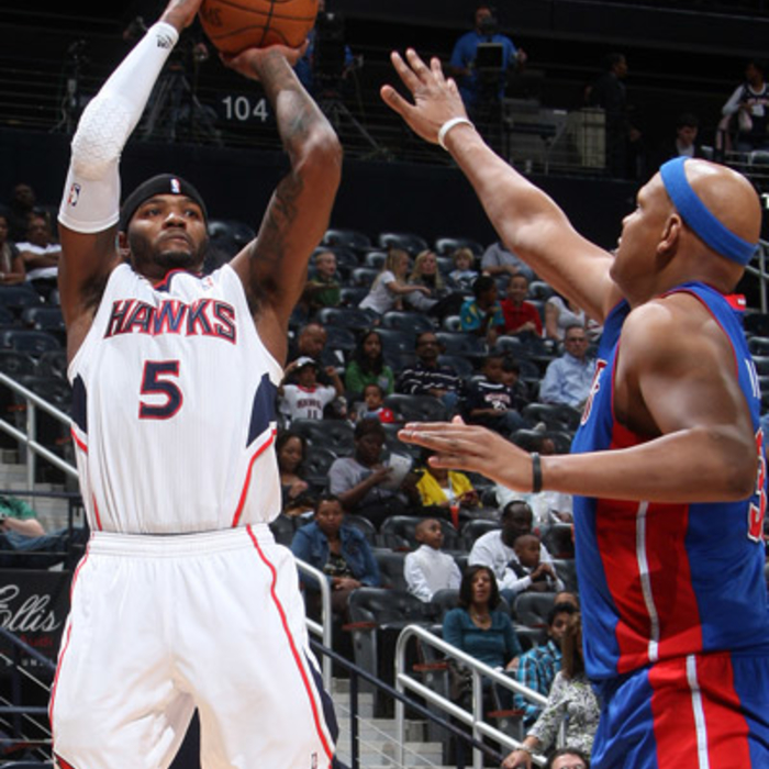 Hawks vs. Pistons - Photos by Scott Cunningham: 3/20/2011