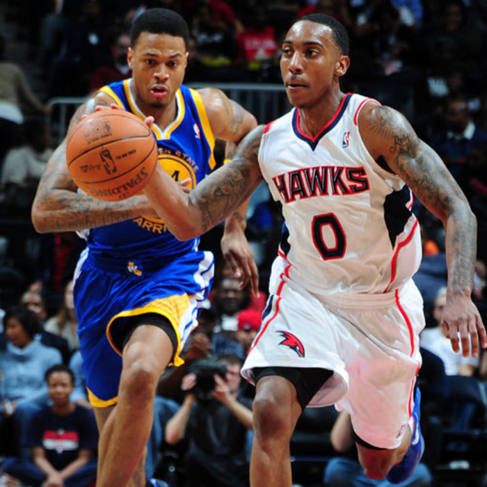 Hawks vs. Warriors - Feb. 29, 2012