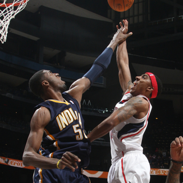 Hawks vs. Pacers - Photos by Scott Cunningham: 12/11/2010