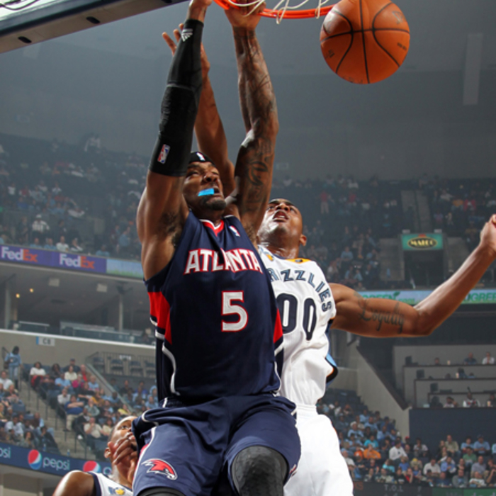 Hawks @ Grizzlies - NBAE/Getty Images: 10/27/2010