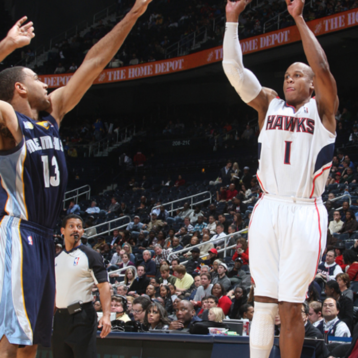 Hawks vs. Grizzlies - Photos by Scott Cunningham: 12/1/2010