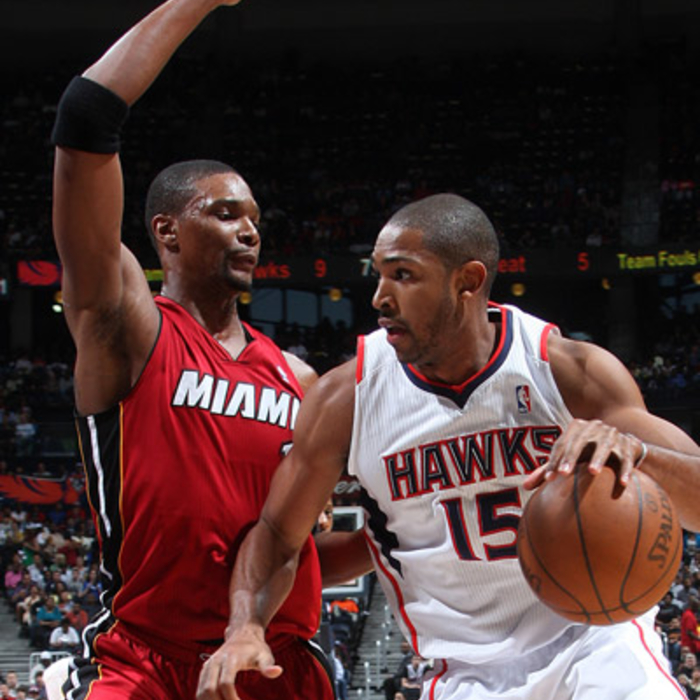 Hawks vs. Heat - Photos by Scott Cunningham: 3/18/2011