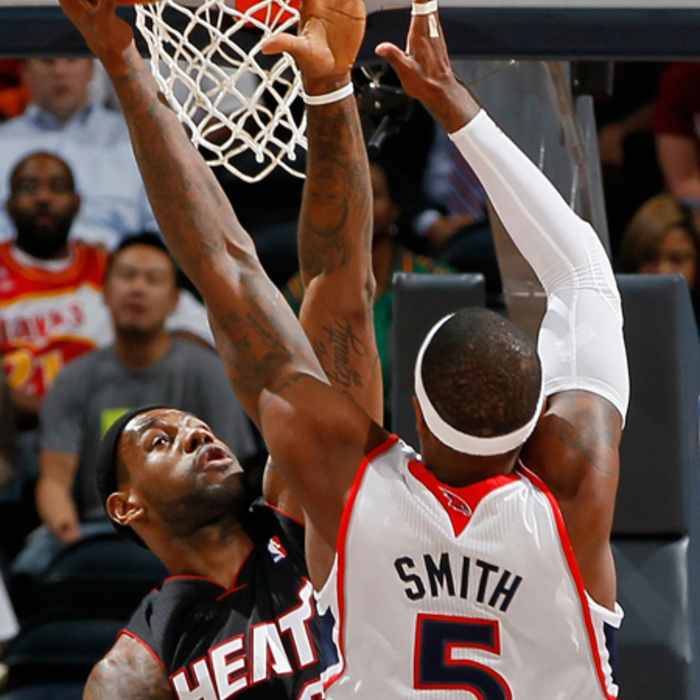 Hawks vs. Heat - NBAE/Getty Images: 10/21/2010