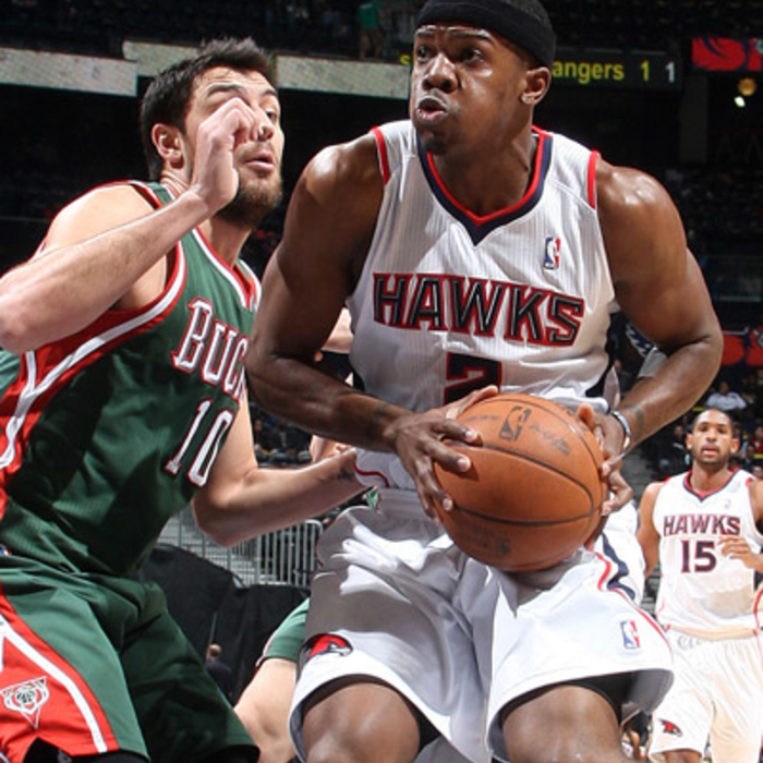 Hawks vs. Bucks - Photos by Scott Cunningham: 3/15/2011
