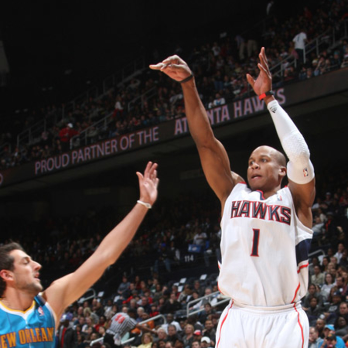 Hawks vs. Hornets - Photos by Scott Cunningham: 1/21/2011