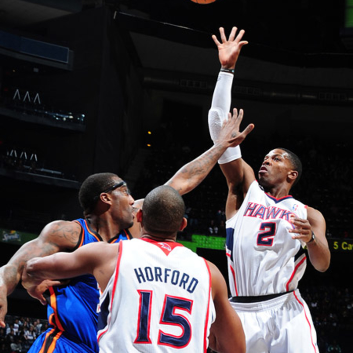 Hawks vs. Knicks - Photos by Scott Cunningham: 1/28/2011