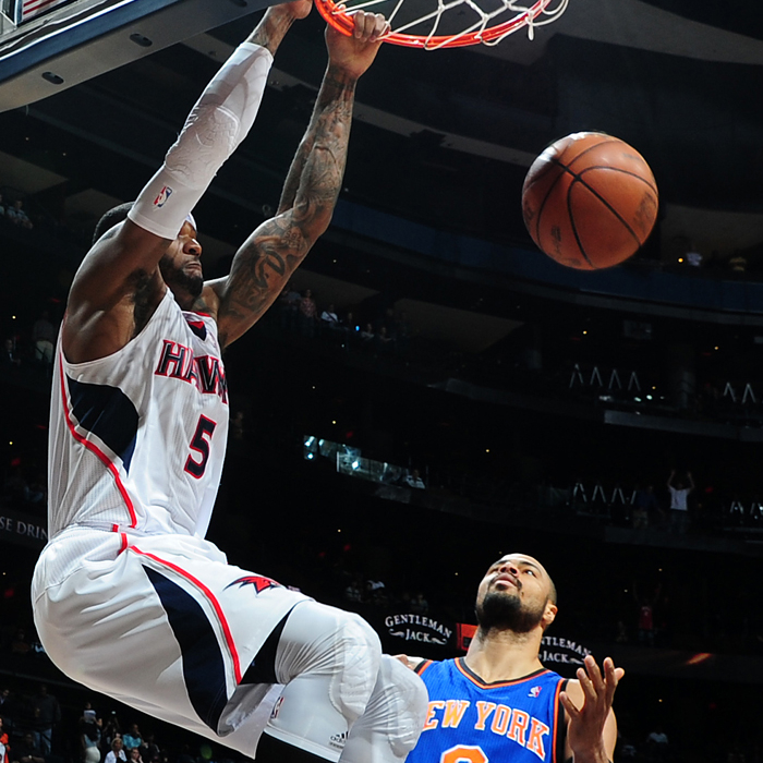 Hawks vs. Knicks - March 30, 2012
