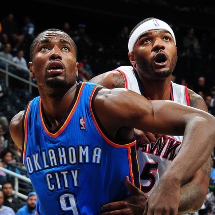 Hawks vs. Thunder - March 3, 2012