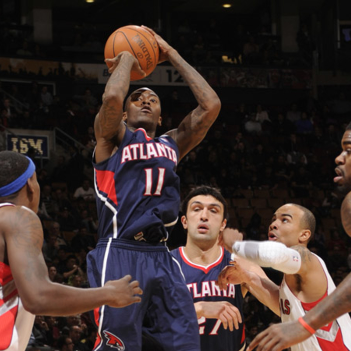 Hawks at Raptors - NBAE/Getty Images: 1/12/2011