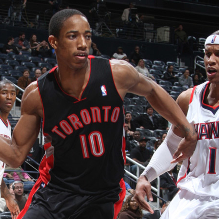 Hawks vs Raptors - Photos by Scott Cunningham: 2/2/2011