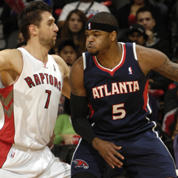 Hawks @ Raptors - Photos by Ron Turenne: 11/28/2010