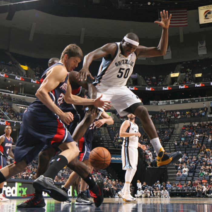Hawks at Grizzlies, Oct. 14, 2012