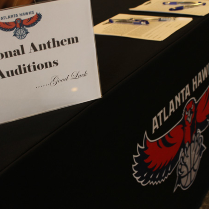 2012-13 Atlanta Hawks National Anthem Auditions