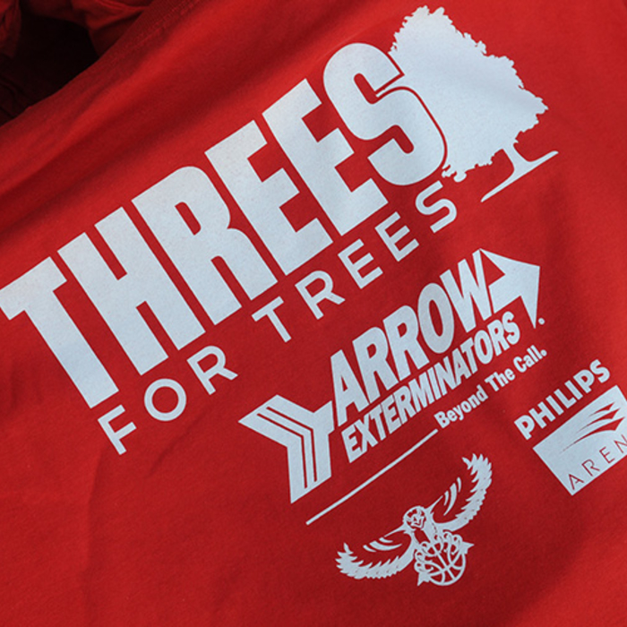 threes for trees