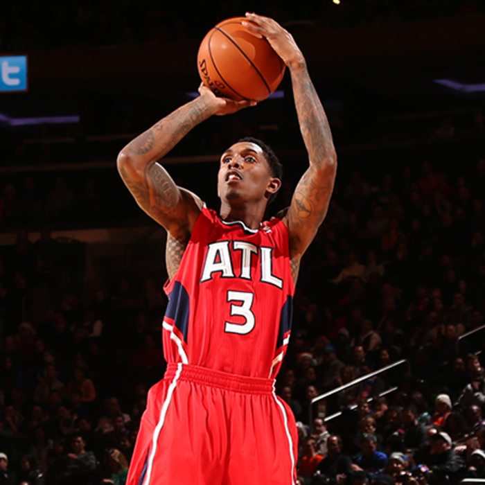 Lou Williams paced the Hawks with a season-high 27 points off the bench.