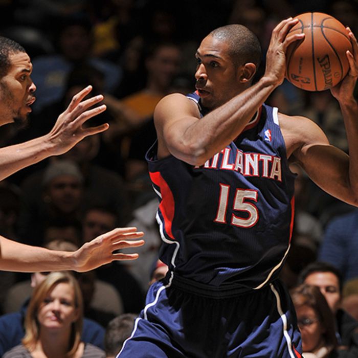 Al Horford finished with 21 points and nine rebounds, another solid game.