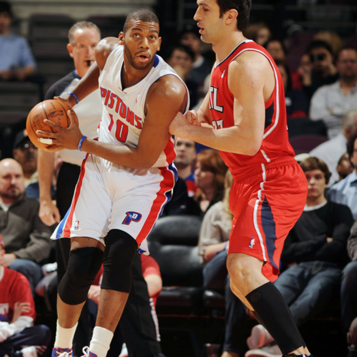 Hawks at Pistons - March 9, 2012