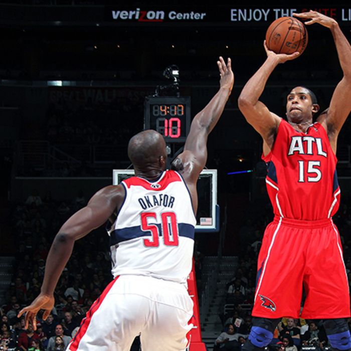 Hawks at Wizards: January 12, 2013